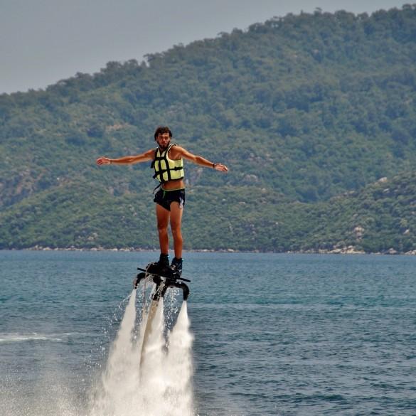 Flyboard et Hoverboard